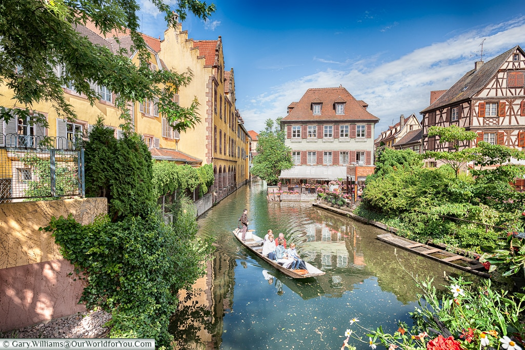 The canals of Colmar, France