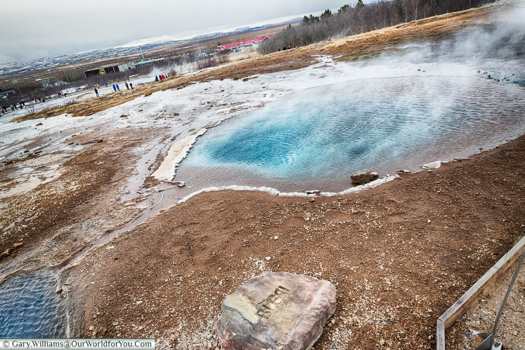 Blesi, part of the Haukadalur geothermal area, Iceland