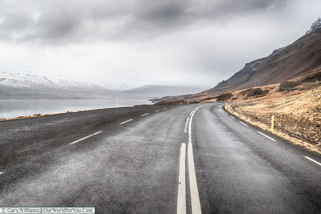 Route One in Eastern Iceland