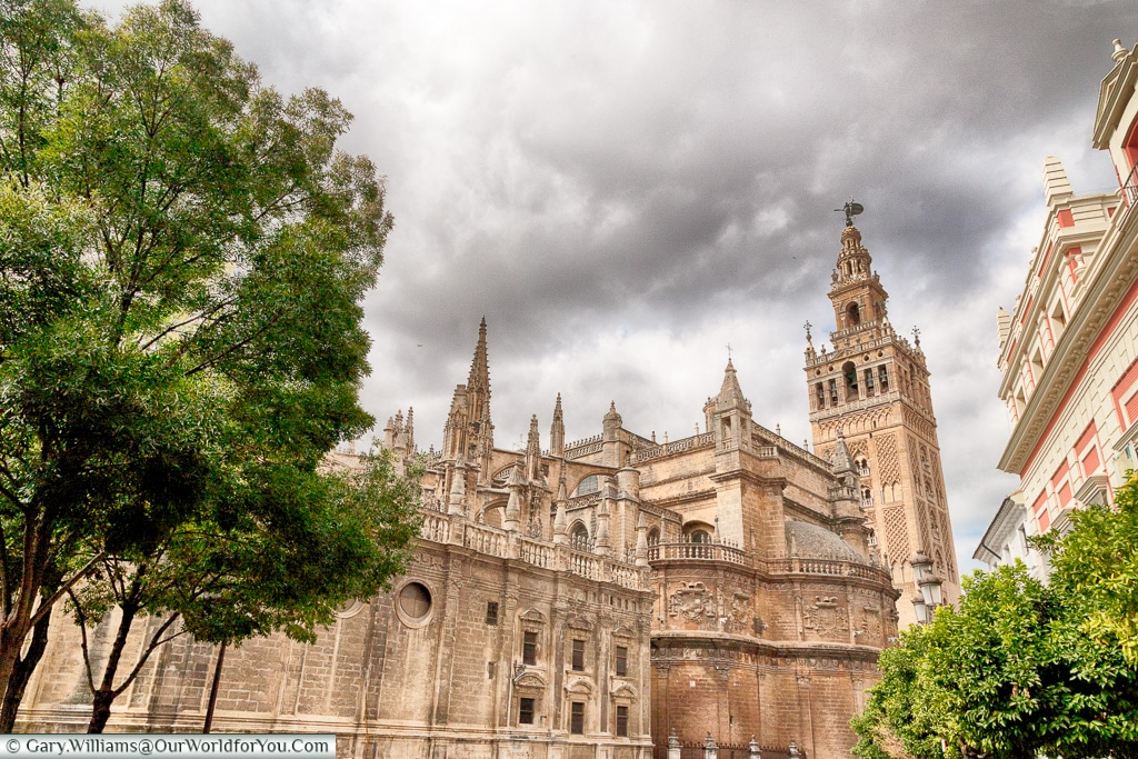 The outside of the Cathedral, Seville Cathedral, Seville, Spain
