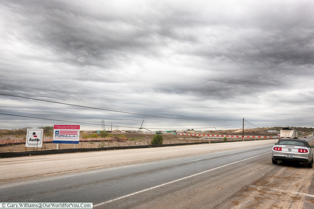 Under construction - The Circuit of the Americas in 2011 - Texas