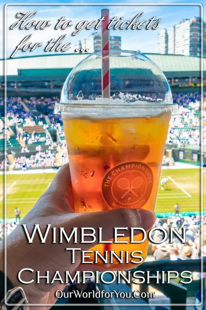 How to get tickets for Wimbledon Tennis Championships