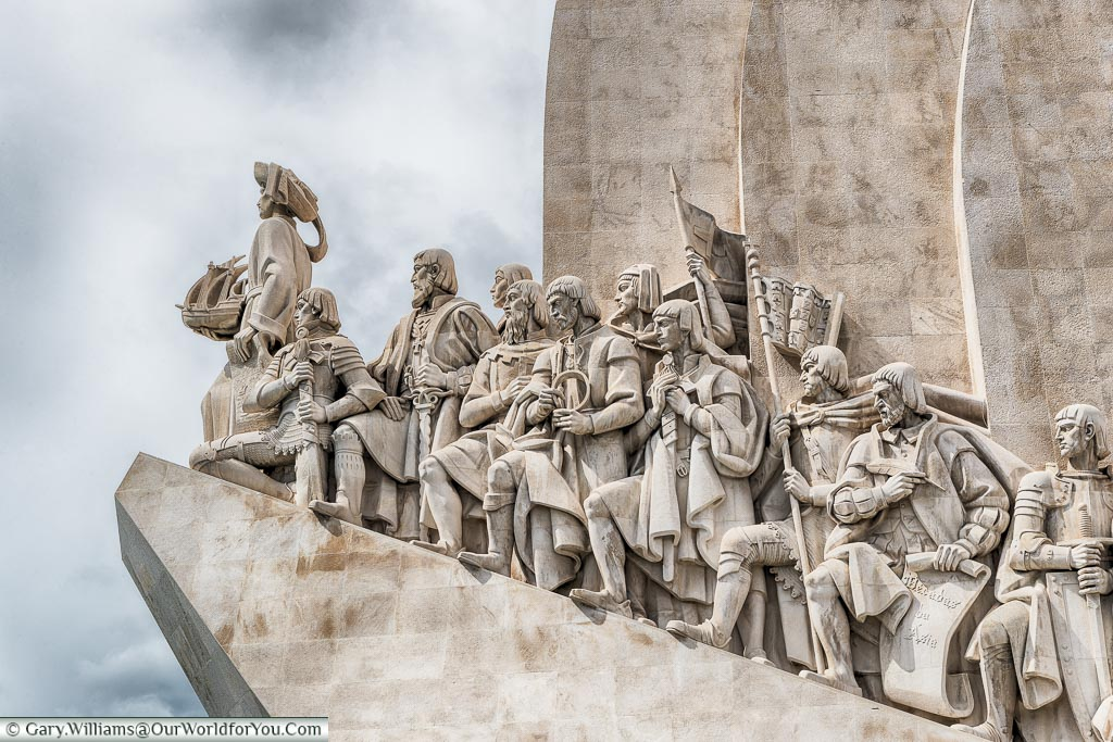 The Monument to the Discoveries,  Belém, Lisbon, Portugal
