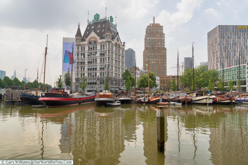 The Witte Huis across the harbour, Rotterdam, Netherlands