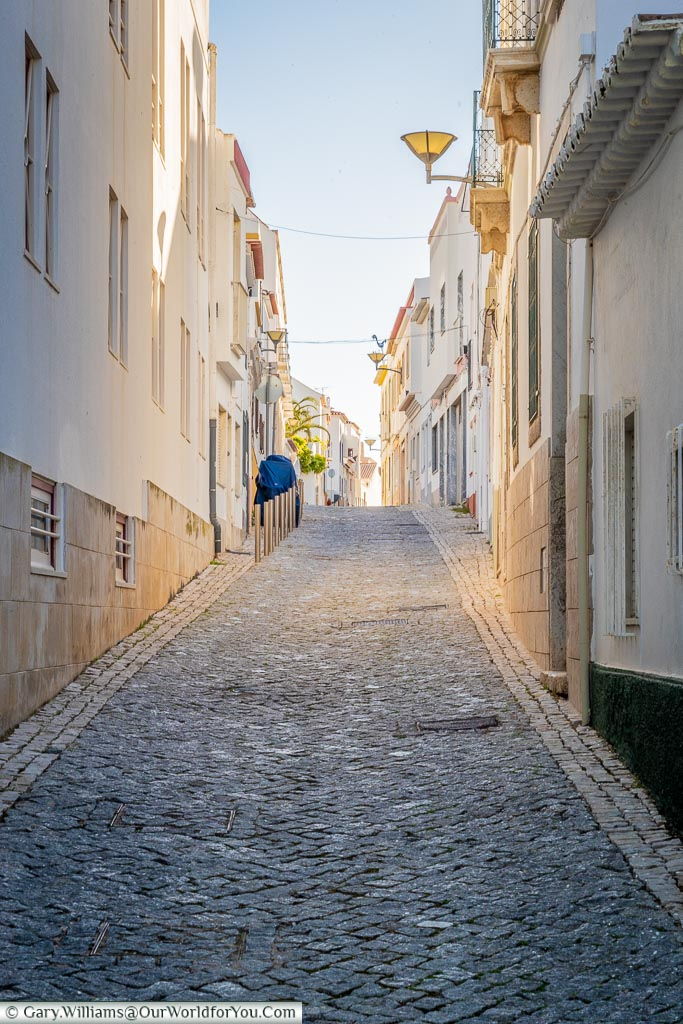 The quiet lanes of Lagos, Algarve, Portugal