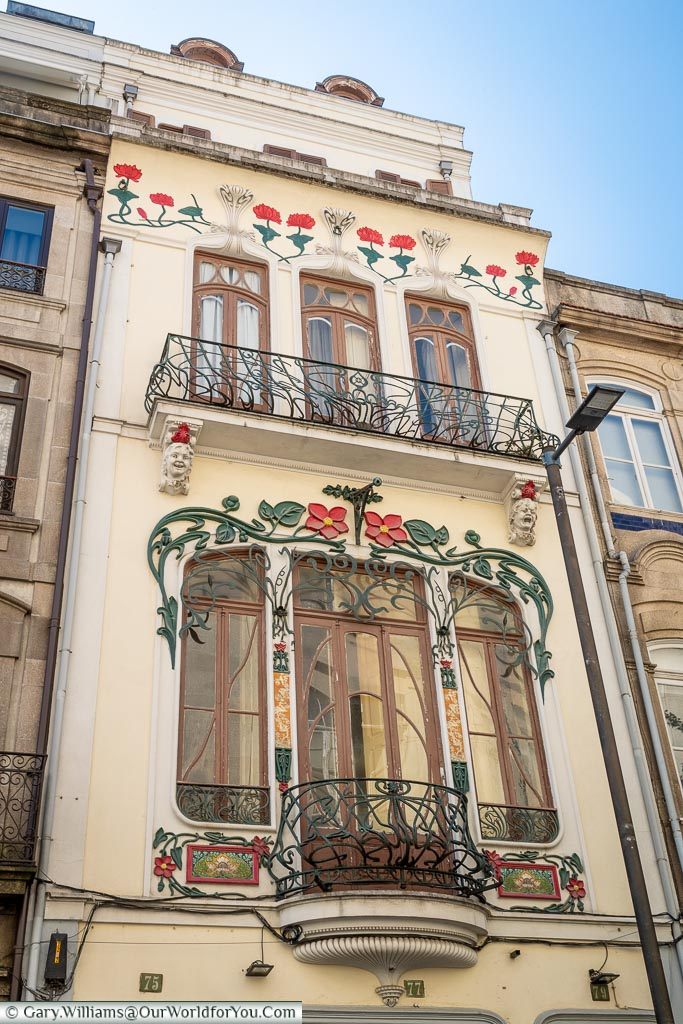 Art Nouveau beauty, Porto, Portugal