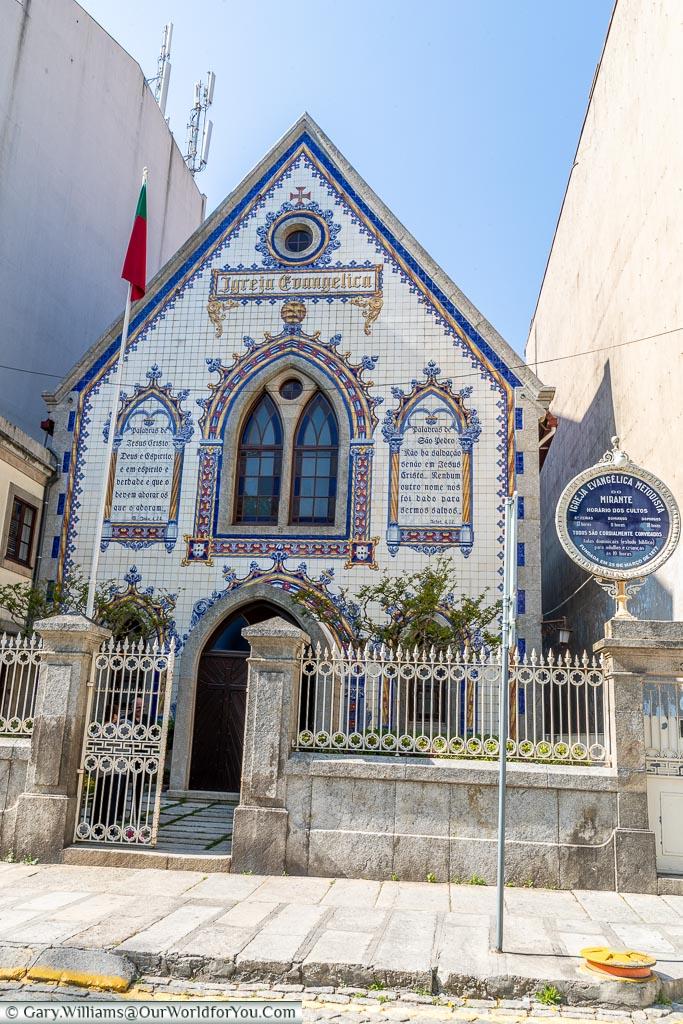 Church of Evangelica, Porto, Portugal
