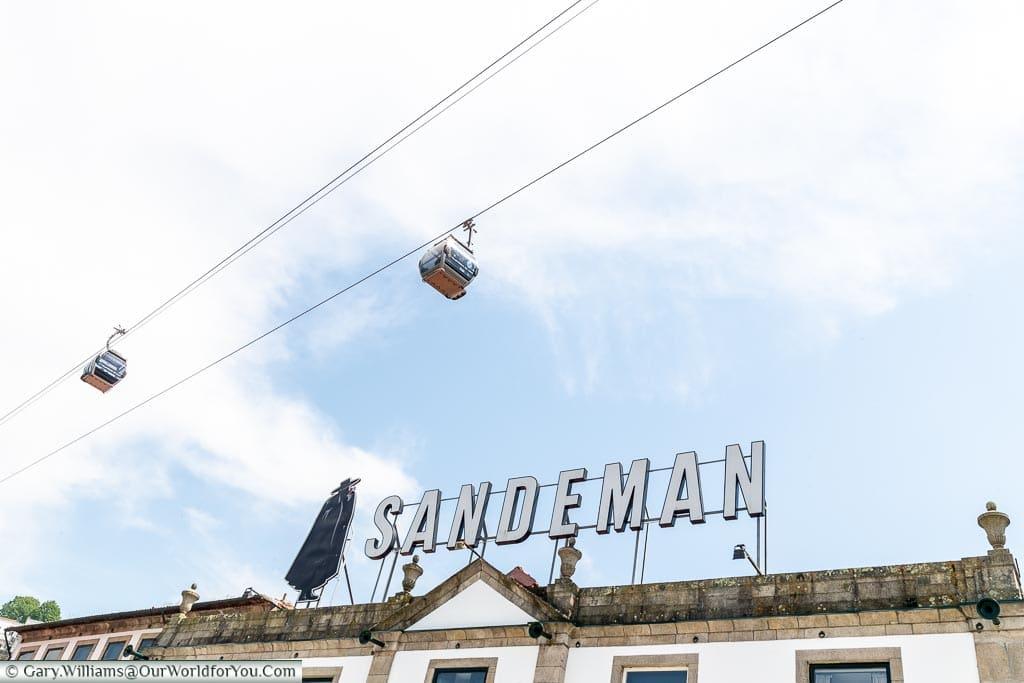 Enter the Sandeman, Porto, Portugal