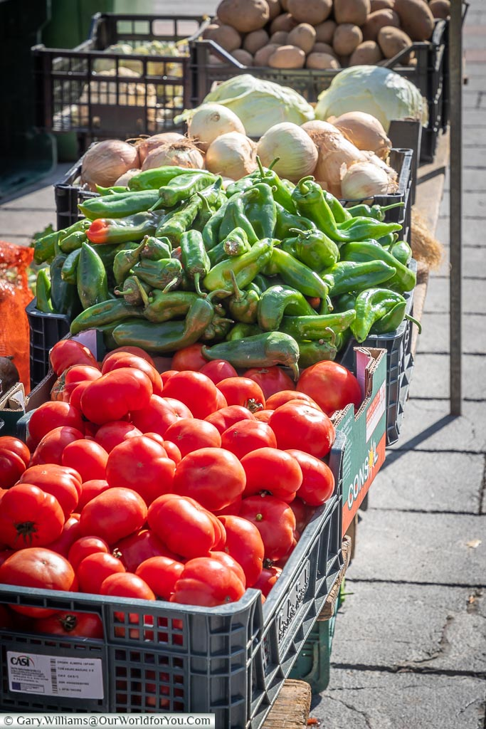 Fresh Vegetables , León, Spain