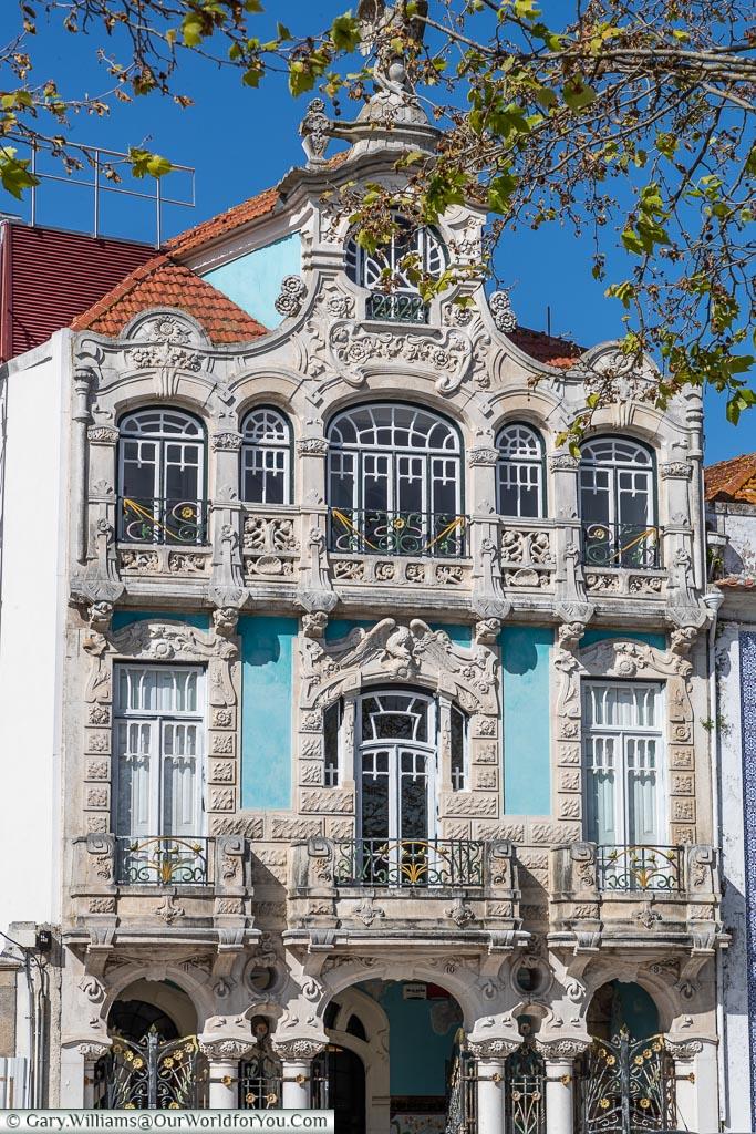 Grand architecture, Aveiro, Portugal