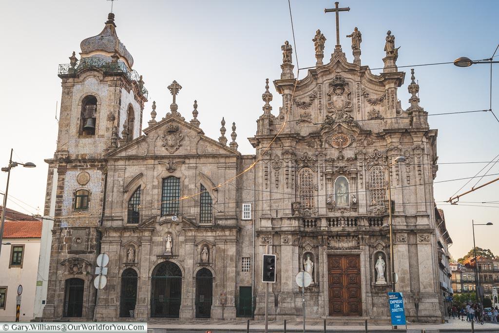 Igreja do Carmo and Igreja dos Carmelitas, Porto, Portugal