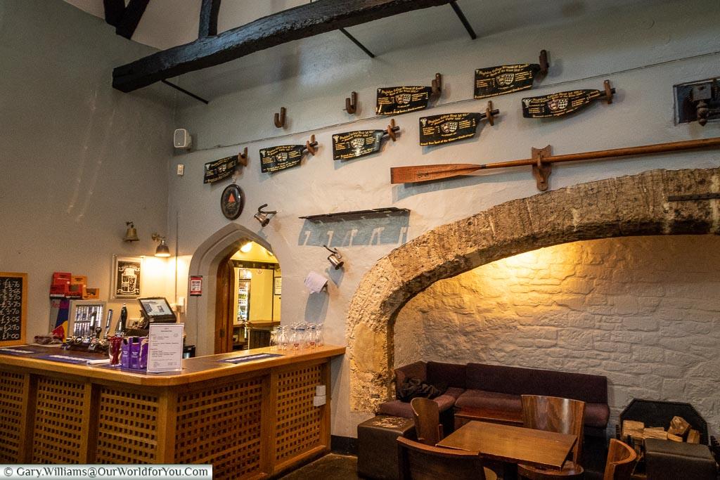 Old Kitchen Bar of Magdalen College