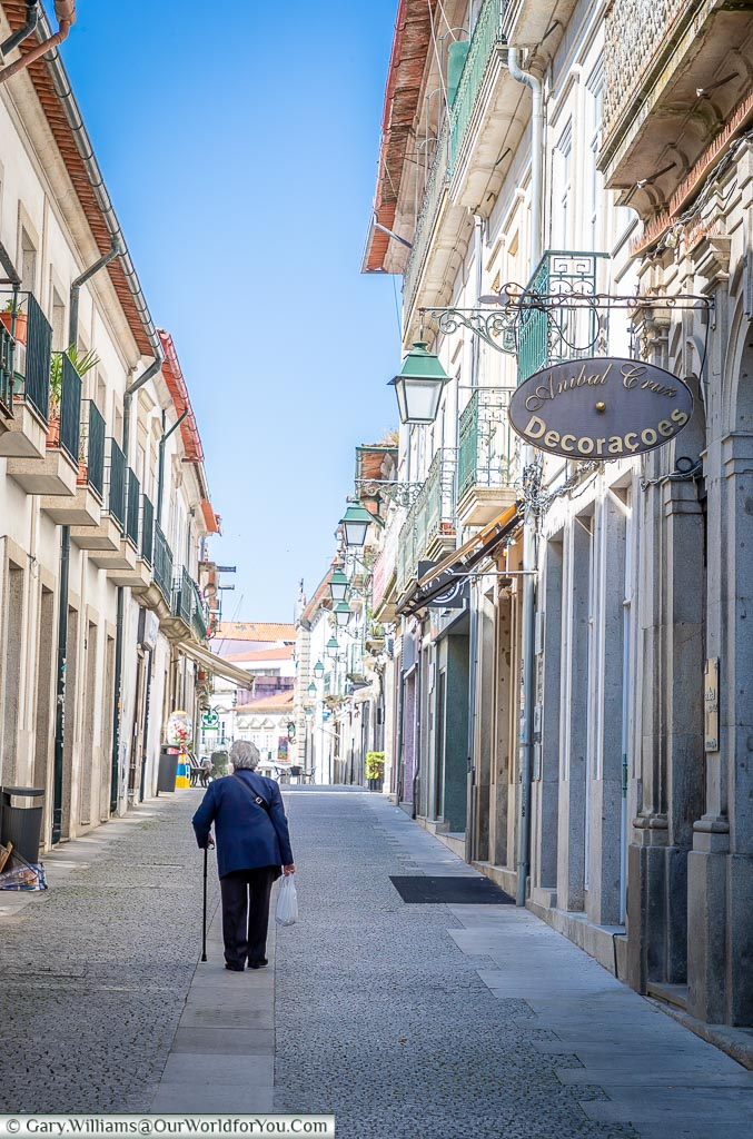 Strolling the lanes of Viana do Castelo, Portugal