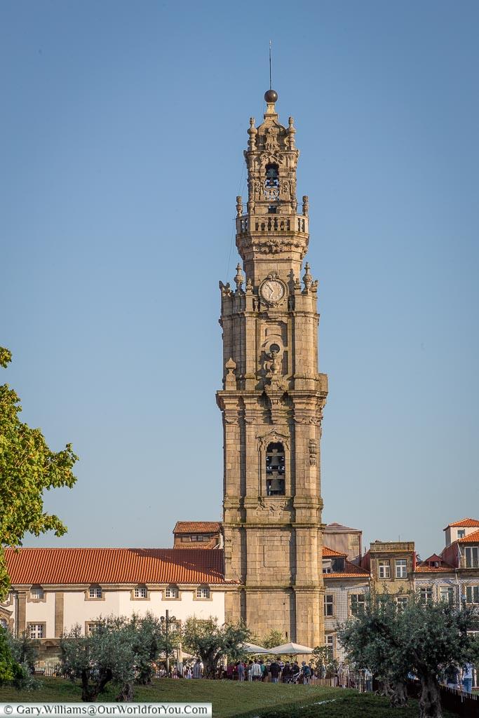 The Clérigos Tower, Porto, Portugal