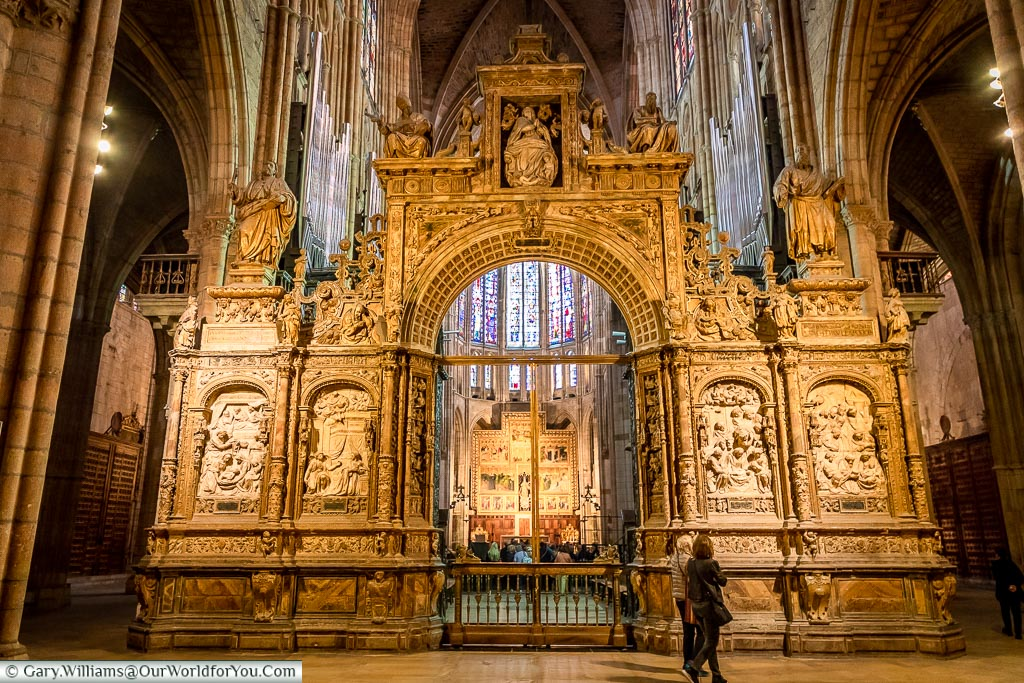 The Interior of the Cathedral, León, Spain
