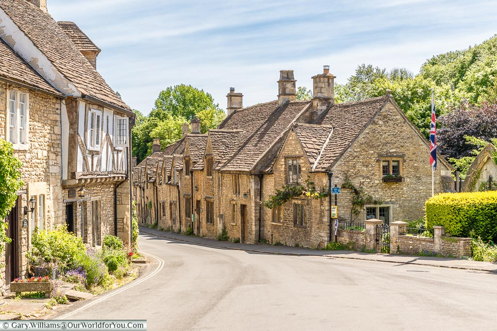 The Street, Castle Combe, Wiltshire, England, UK