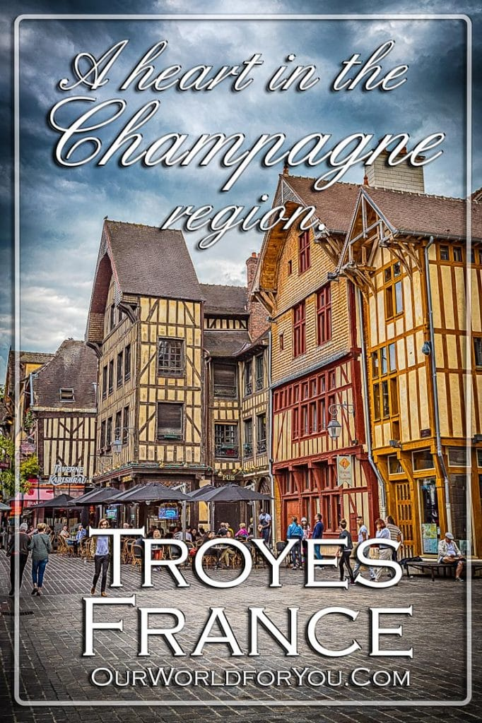 Town centre - Pinterest, Troyes, Champagne, Grand Est, France