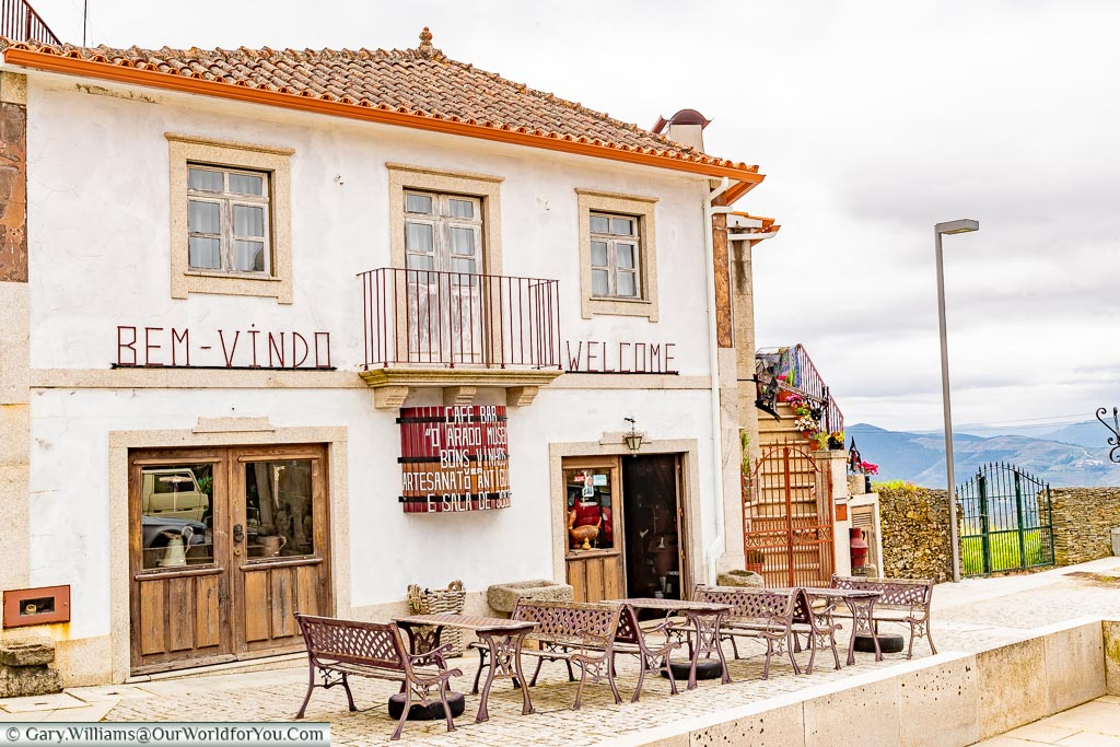 A cafe bar in Provesende, Douro Valley, Portugal
