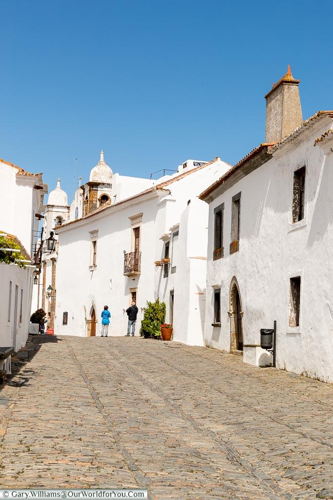 Another quiet street, Monsaraz, Portugal