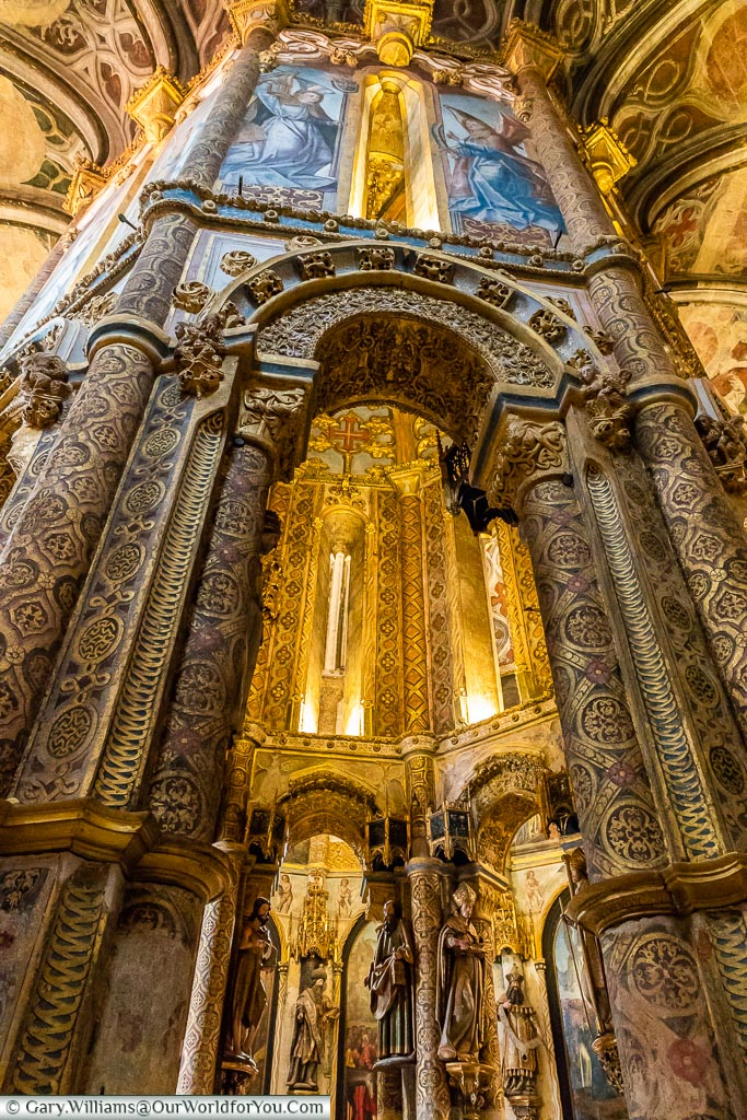 Intricate detail, Tomar, Portugal