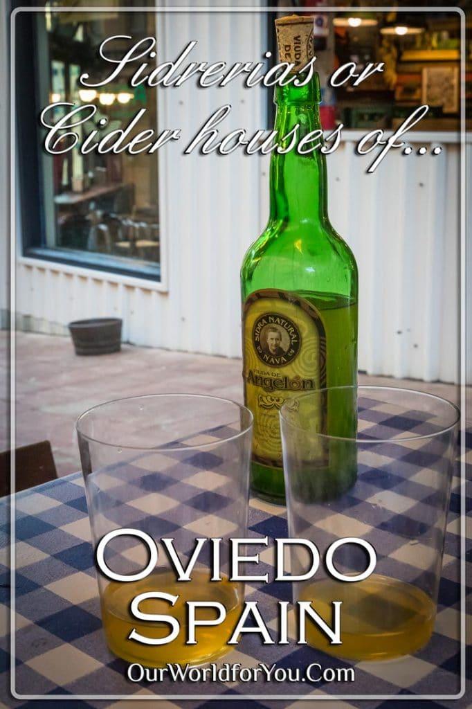 Sidrerias (Cider houses), Oviedo, Spain