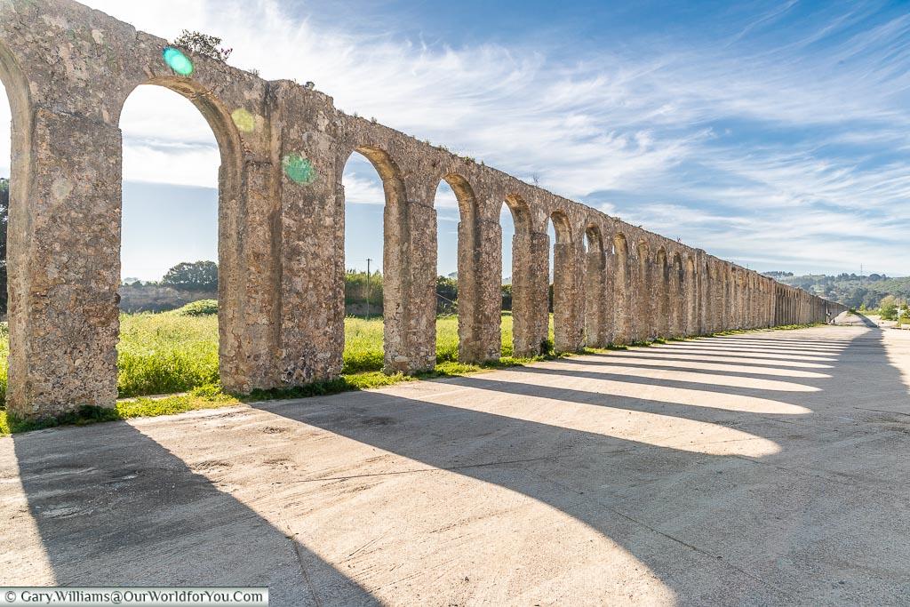 The Aqueduct, Óbidos, Portugal