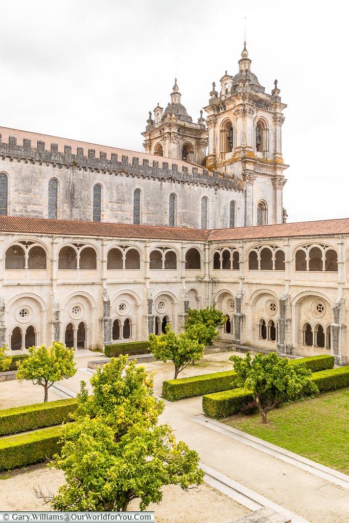 The Cloister of Silence, Monastery of Alcobaça, Portugal