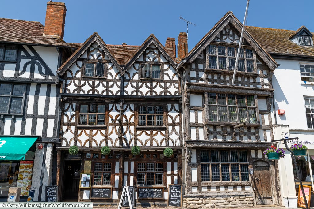 The Garrick Inn, Stratford-upon-Avon, Warwickshire, England, UK