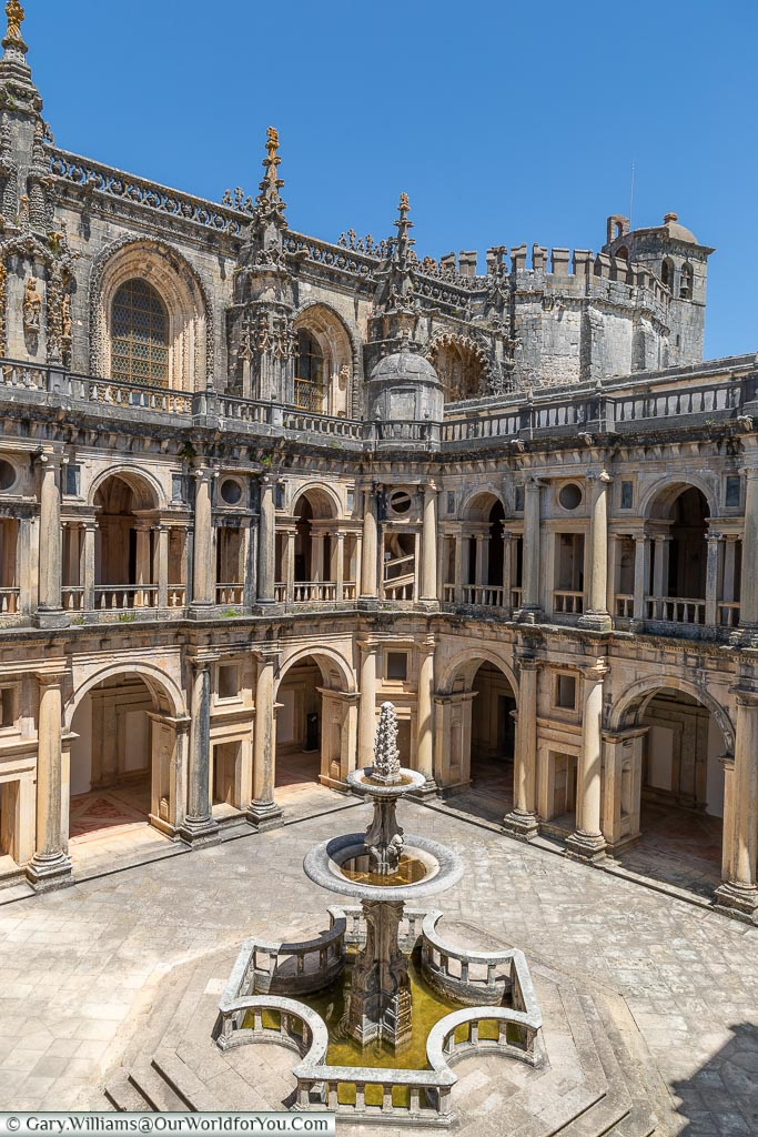The Great Cloister, Tomar, Portugal