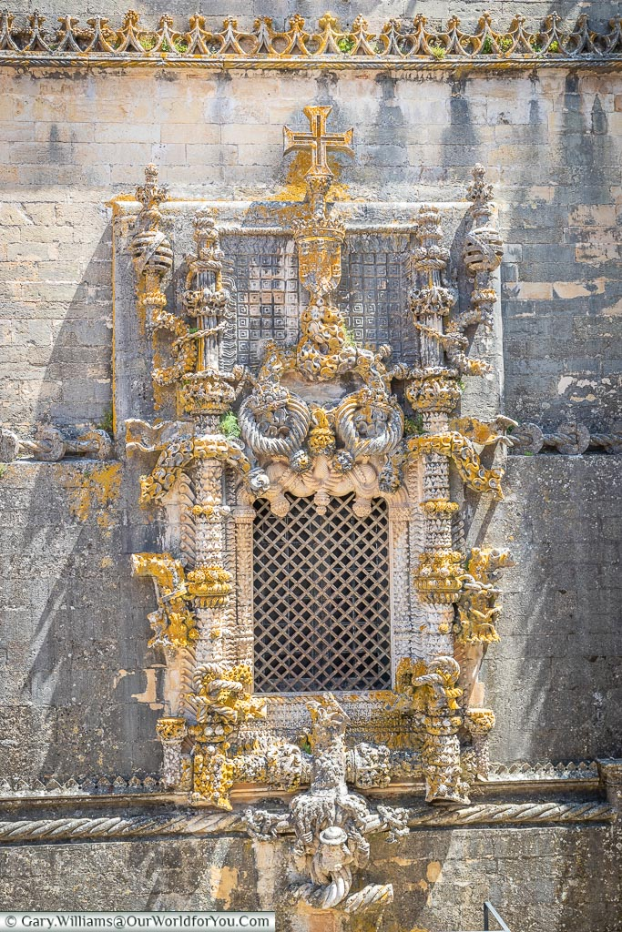 The Manueline Window, Tomar, Portugal