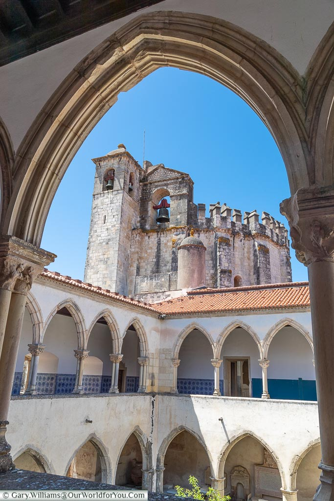 The Washing Cloister, Tomar, Portugal
