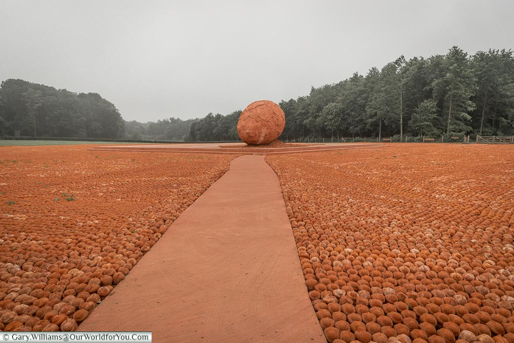 The path to the egg, Belgium