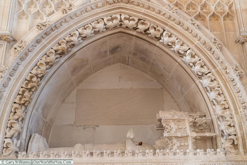 The tomb of Henry the Navigator, Monastery of Batalha, Portugal
