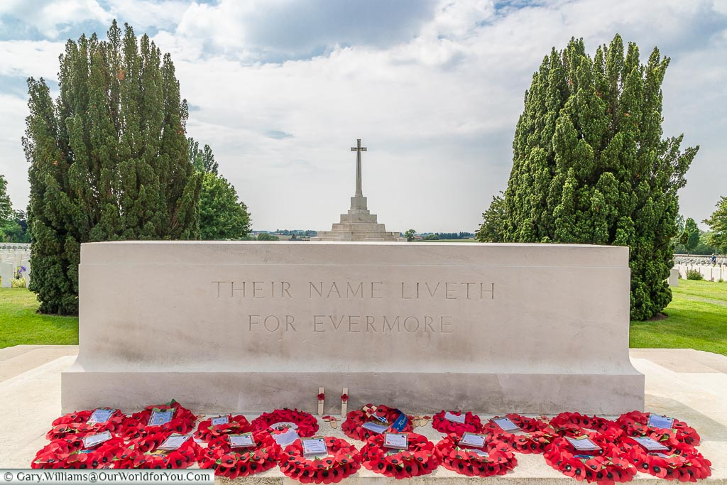 Their Name Liveth for Evermore, Tyne Cot, Passchendaele, Belgium