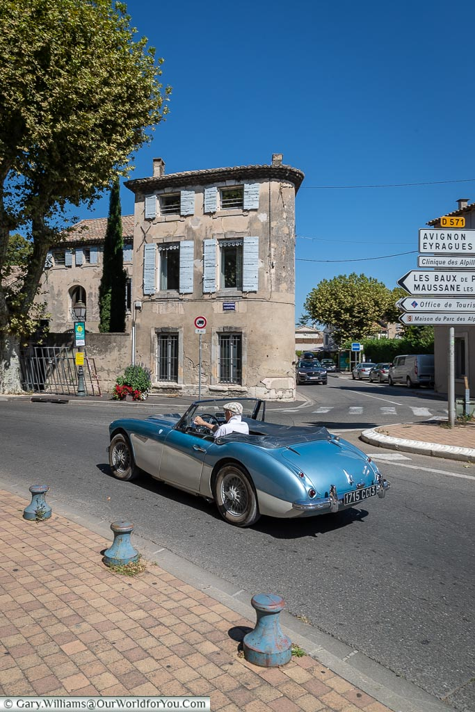 Cruising around the town, St Remy-de-Provence, France