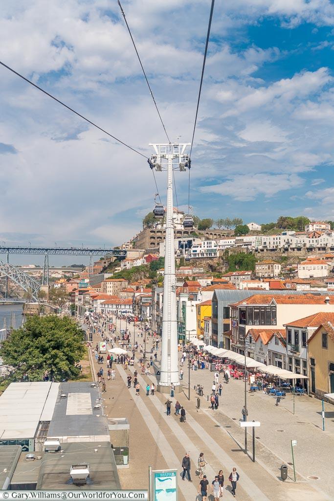 The Gaia side of the Douro river, Porto, Portugal