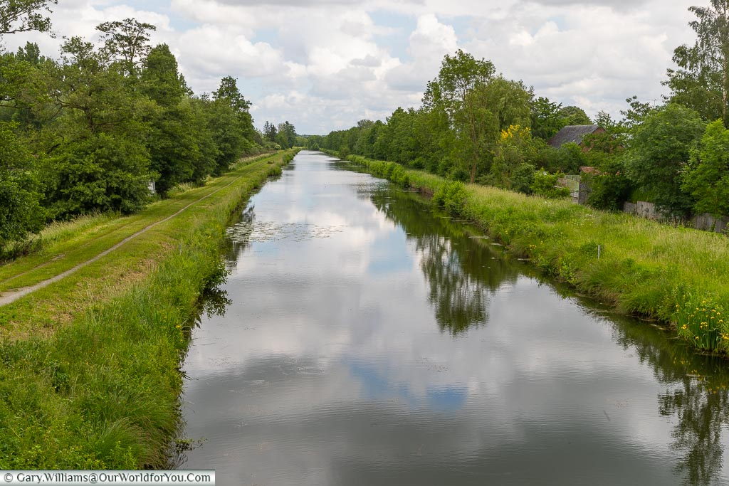 The Sambre–Oise Canal, Ors, France