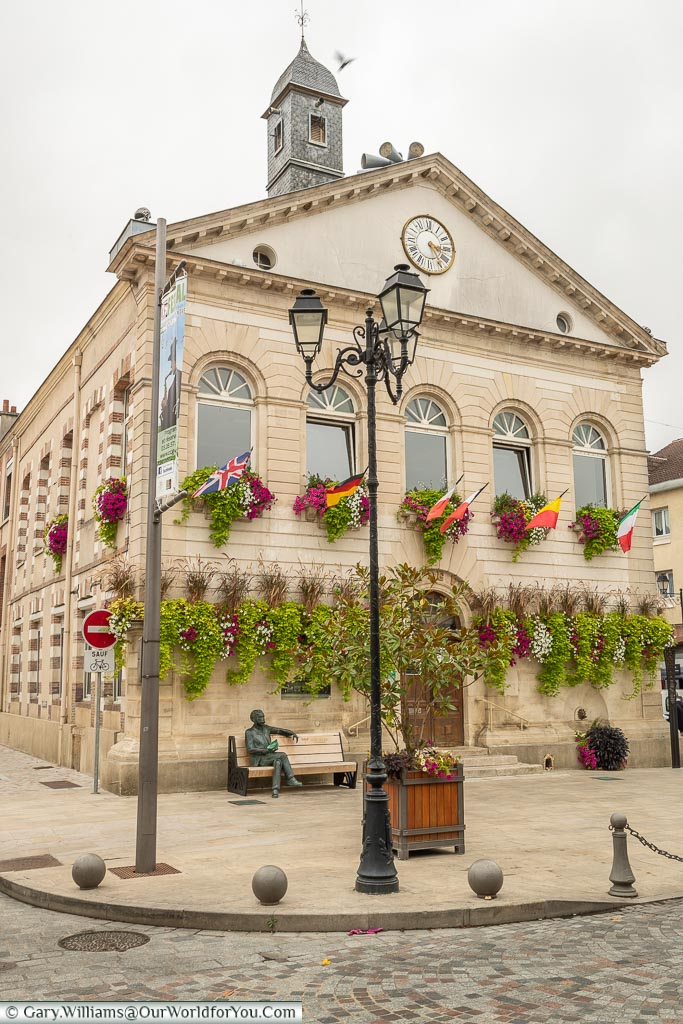 The Town Hall, Ay, Champagne Region, France