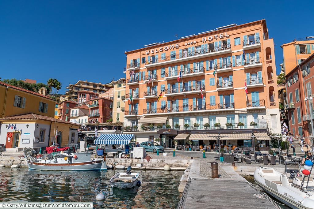 The Welcome Hotel in Villefranche-sur-Mer, France