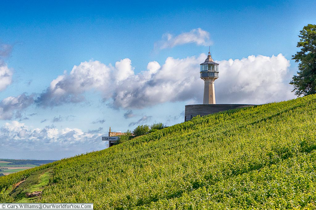 The lighthouse at Verzy, Champagne Region, France