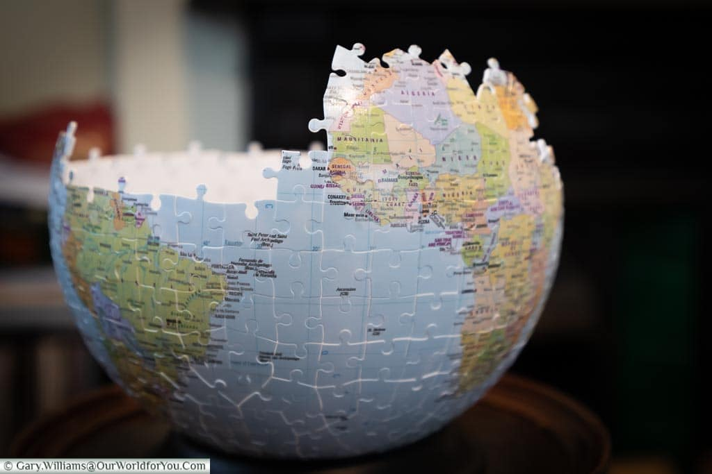 Globe Jigsaw Gift Idea