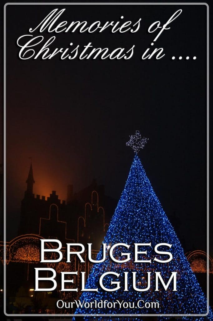 Memories of Bruges at Christmas - Pinterest