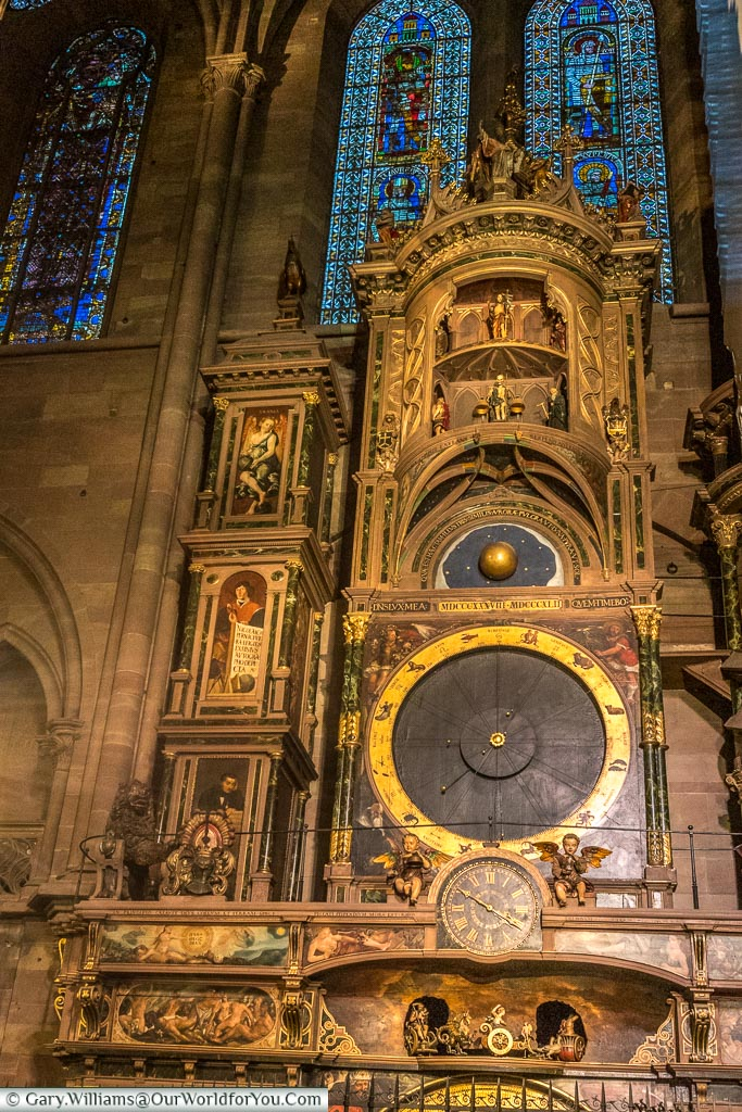 The Astronomical clock, Strasbourg, France