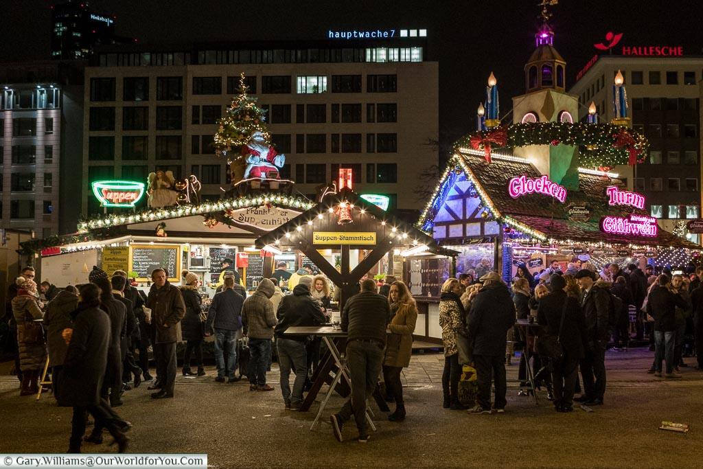 The never ending market, Frankfurt, Germany