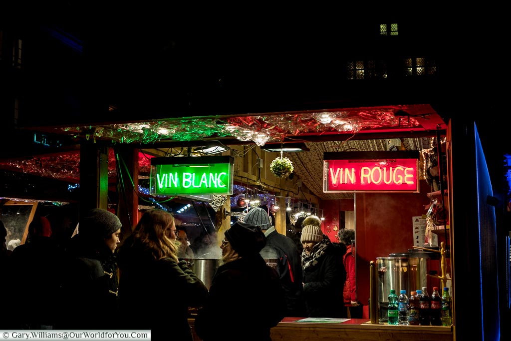 Vin Rouge or Vin Blanc, Strasbourg, France