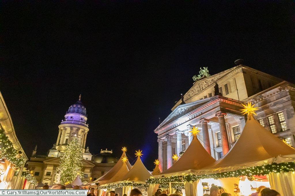 Concert Hall & Deutscher Dom, Berlin German Christmas Markets