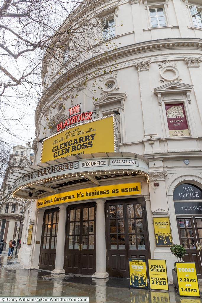 Glengarry Glen Ross at the Playhouse Theatre, London, England