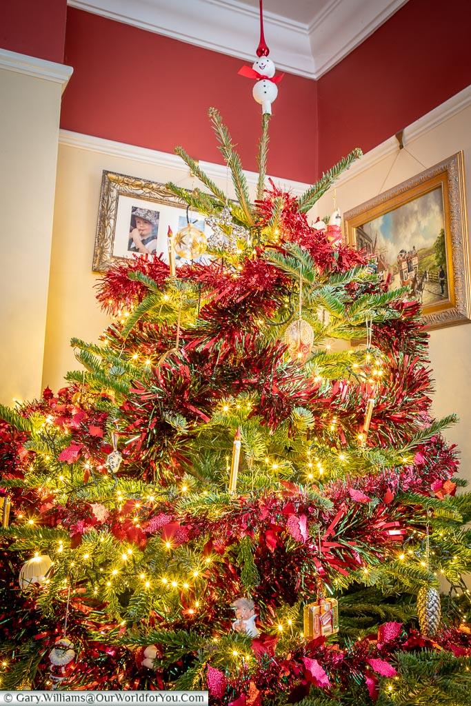 The lounge Christmas Tree