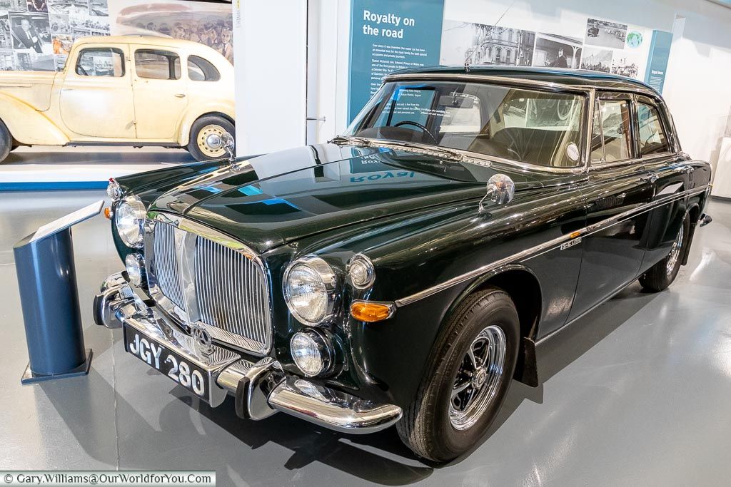 A favourite of mine, British Motor Museum, Warwickshire, England, UK