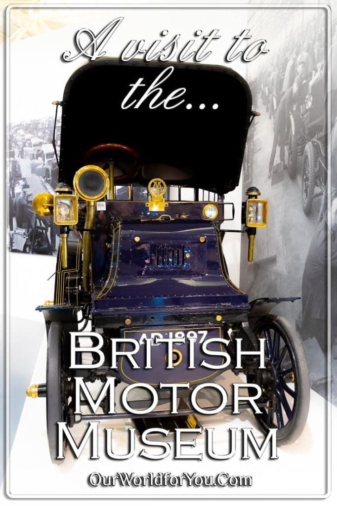 A visit to the British Motor Museum